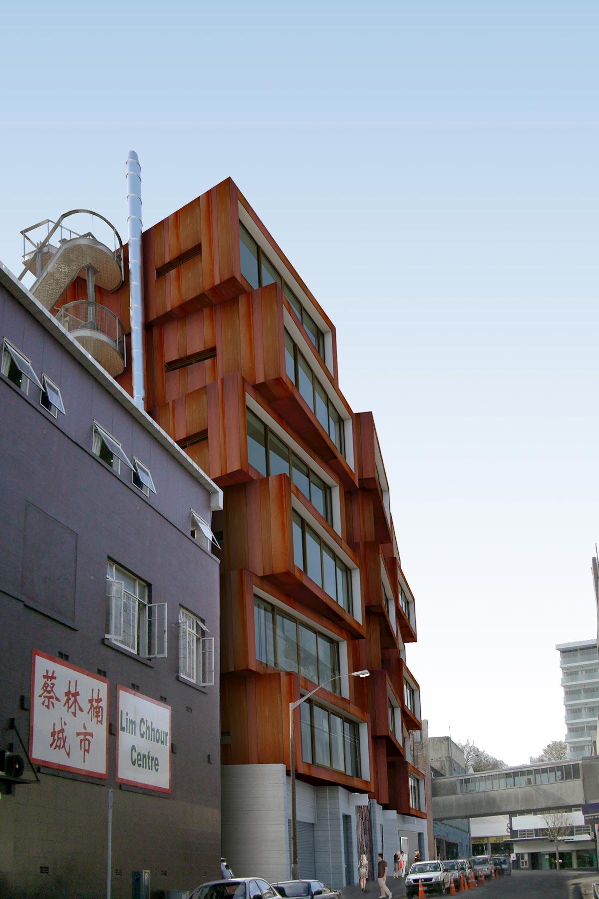 Ironbank Building - Fire Report